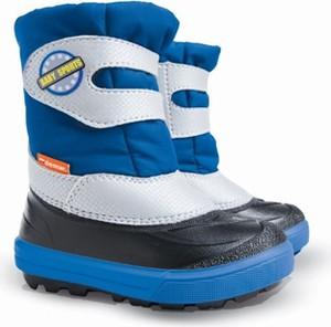 Buty dziecięce zimowe Demar na rzepy dla chłopców