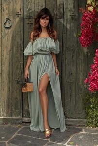 43b5df6b0f zwiewna mini sukienka suknia z koronką - stylowo i modnie z Allani