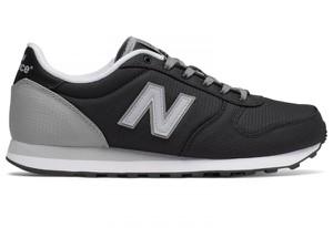 Czarne buty New Balance w sportowym stylu