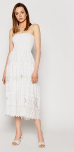Sukienka Iconique midi bez rękawów trapezowa