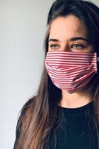 Agnieszka Martini Maska ochronna bawełniana - 3 filtry + Etui.