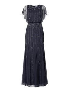 Sukienka Lace & Beads z okrągłym dekoltem maxi