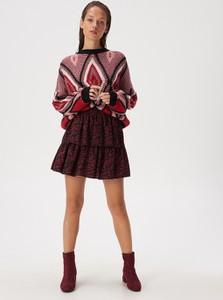 Czerwona spódnica Sinsay