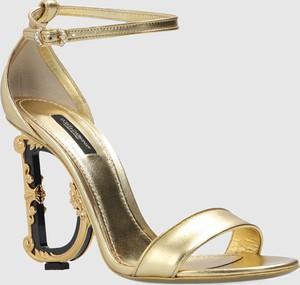 Sandały Dolce & Gabbana z klamrami