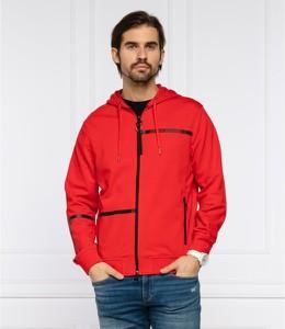 Czerwona bluza Armani Exchange