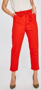 Pomarańczowe spodnie Answear
