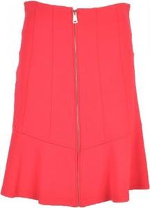 Różowa spódnica Pinko mini w stylu casual
