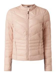Różowa kurtka Vero Moda Outdoor w stylu casual