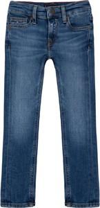 Niebieskie jeansy dziecięce Tommy Hilfiger