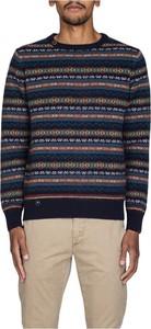Niebieski sweter Bob w młodzieżowym stylu