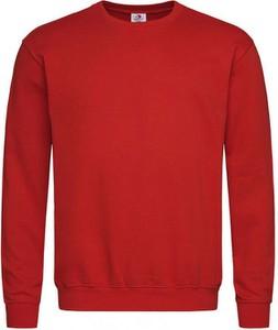 Czerwona bluza Stedman z bawełny