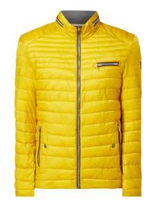 Żółta kurtka Milestone w stylu casual