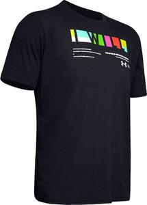 Czarny t-shirt Under Armour z bawełny