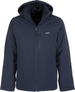 Niebieska kurtka Patagonia krótka w stylu casual