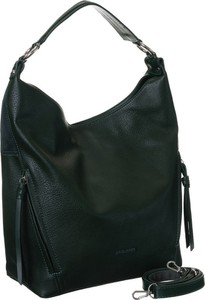 Czarna torebka David Jones w wakacyjnym stylu na ramię