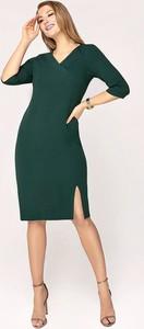 Zielona sukienka Tomasz Sar midi