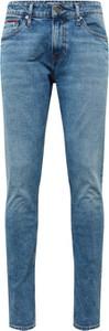 Jeansy Tommy Jeans z jeansu