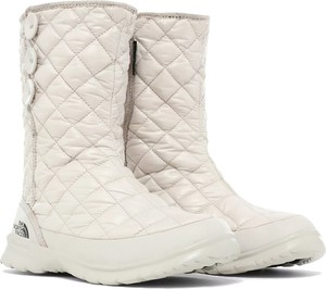Śniegowce The North Face z płaską podeszwą z tkaniny
