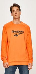 Pomarańczowa bluza Reebok Classic z dzianiny