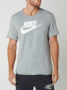 T-shirt Nike z nadrukiem z bawełny