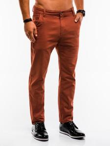 Pomarańczowe spodnie Edoti