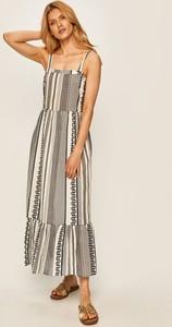 Sukienka Vila z tkaniny