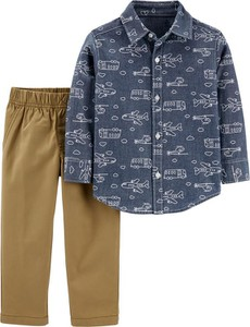 Koszula dziecięca Carter's z bawełny