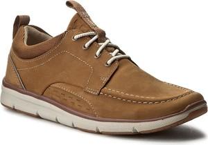 Buty sportowe Clarks w stylu casual sznurowane