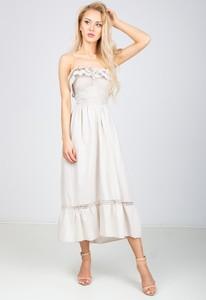 4216f79dfc sukienka z gorsetem i falbankami - stylowo i modnie z Allani