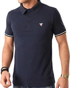 Koszulka polo Guess w stylu casual z bawełny