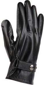 Czarne rękawiczki Lasocki