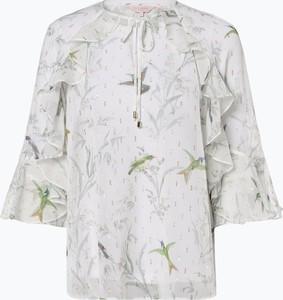 Bluzka Ted Baker ze sznurowanym dekoltem