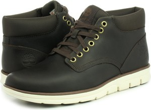 Brązowe buty zimowe Timberland