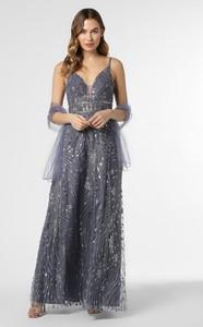 Sukienka Luxuar Fashion na ramiączkach prosta maxi