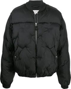 Czarna kurtka Maison Margiela krótka w stylu casual
