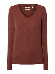 Czerwony sweter Christian Berg Women w stylu casual z wełny