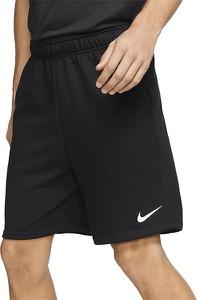 Czarne spodenki Nike z jedwabiu