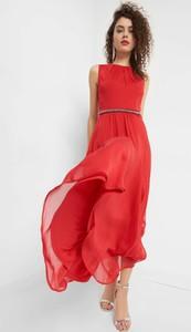 Czerwona sukienka ORSAY maxi