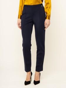 Granatowe spodnie Luisa Spagnoli