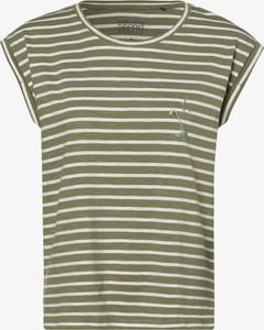 T-shirt Esprit z okrągłym dekoltem z krótkim rękawem