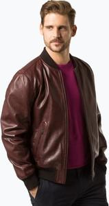 Czerwona kurtka Strellson w stylu casual