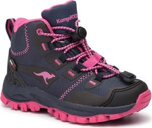 Buty trekkingowe dziecięce Kangaroos sznurowane