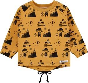 Żółta bluza dziecięca Mammamia z bawełny