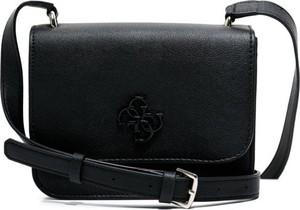 Czarna torebka Guess matowa średnia