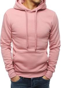 Różowa bluza Dstreet z bawełny
