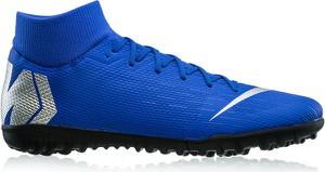 Buty sportowe Nike sznurowane w sportowym stylu ze skóry