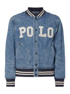 Niebieska kurtka POLO RALPH LAUREN z jeansu