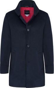 Płaszcz męski Lavard z tkaniny