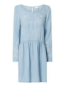 Sukienka Vila prosta mini z okrągłym dekoltem