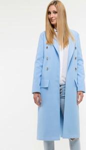 Niebieski płaszcz Yuliya Babich
